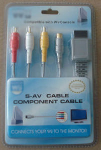 Game Accessories for Wii/Cable for Wii Console