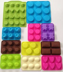 Silicone Cupcake Moulds/ Ice Moulds pictures & photos