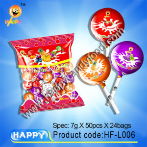 Hard Candy / Hard Lollipop Candy (HF-L006)
