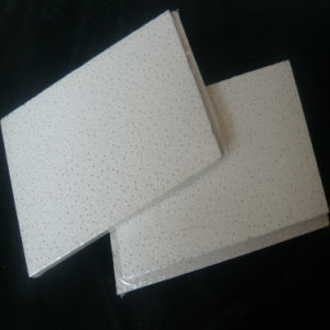 Sandy Blasting Mineral Fiber Board (3D design and thickness) pictures & photos