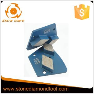 Rhombus Concrete Trapezoid Diamond Grinding Segment pictures & photos