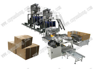Automatic Carton Filling and Packing Line pictures & photos