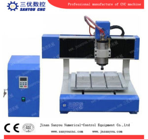 Mini Desktop CNC Router Sy-4040 with 1.5kw Spindle