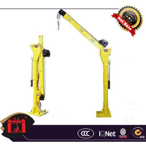12V, 500kg Vehicle-Mounted Mini Crane, 360 Rotating Crane pictures & photos