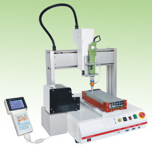 High Precision Hot Melt Manual Glue Dispensing Machine pictures & photos