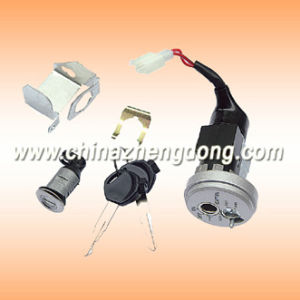 Ce Alloy Motorcycle Ignition Switch (BIZ 125) pictures & photos