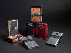 Cigarette Hinge Lid Box