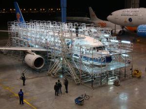 Aircraft Maintenance Scaffolding System