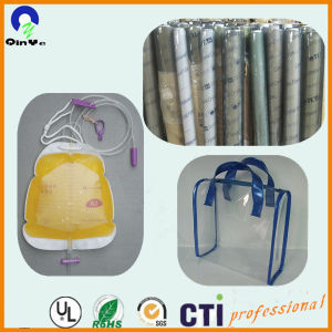 Plastic Normal Clear Flexible PVC Film for Garment Packing Bag pictures & photos