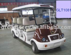 Electric Sightseeing Car Glt 1081