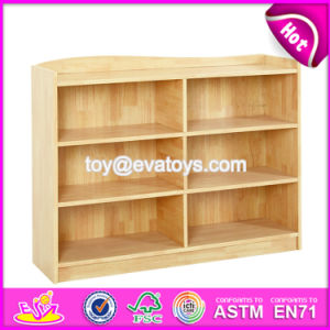 High Quality Nursery School Toy Organizer Natural Wood Storage Cubes W08c204 pictures & photos