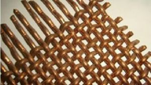 Copper Crimped Wire Mesh in High Quality with Factory Competitive Price pictures & photos
