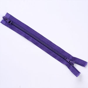 No. 3 Nylon Zipper Two Way Open End with Optional Puller pictures & photos