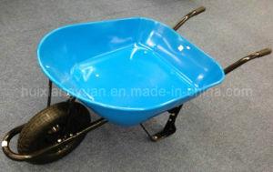 Pneumatic Blue Wheelbarrow, Wheel Barrow (WB4002)
