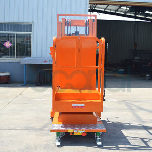Mobile Aerial Order Picker for Warehouse Use (3.5m) pictures & photos