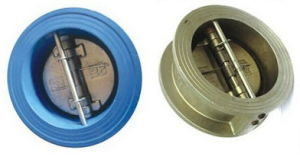 Wafer Type Dual Plate Check Valve pictures & photos