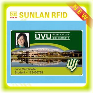 RFID Smart Blank Campus Student ID Card with Customized Printing pictures & photos