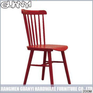Ash Solid Wood Colorful Windsor Dining Chair pictures & photos