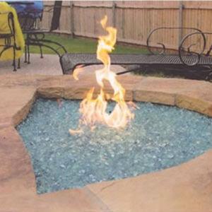 Fire Pit Decorative Glass Grit pictures & photos