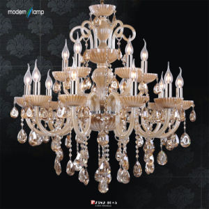Smoky Crystal Chandelier (P7382-10+5)