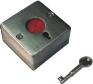 ABS Case Panic Alarm Button with Key Es-9068A pictures & photos