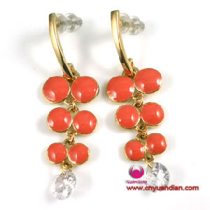 Fashion Colourful Enamel Metal Earring