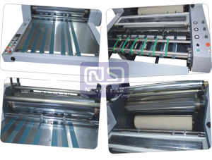 Laminating Machine Suit for Pre-Glued Film and Glueless Film pictures & photos
