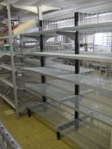 Customized Supermarket Wire Shelf OEM