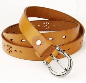 Wholesale Garment Clothing Accessories Leather Belts Man Wearing pictures & photos