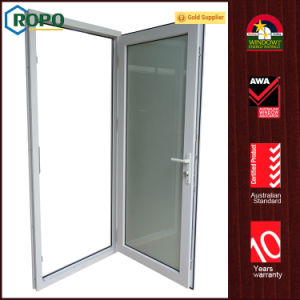 Tempered Glass Safety UPVC/PVC Casement Swing out Doors pictures & photos
