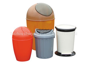 Plastic Injection Household Dustbin Mould (HY035) pictures & photos