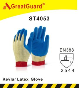 Supershield Cut Resistant Latex Coated Glove (ST4053) pictures & photos