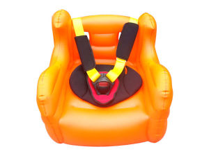 Inflatable Car Hightened Seat Cushion With E Mark Approvaled pictures & photos