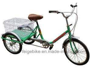 Elder People Use Three Wheel Bike Tricycle (FP-TRCY025) pictures & photos
