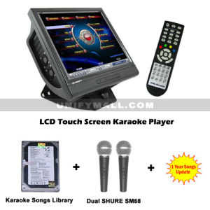 "Unify 500GB 17"" Touch Screen Karaoke Player Package"
