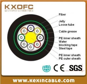 Optic Fiber Cable GYFTY53 for Communication