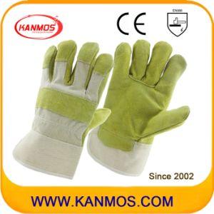 Anti-Scratch Cowhide Split Leather Industrial Hand Safety Work Gloves (11002)