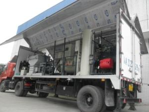 Vehicle Mounted Mobile Type of Steam-Based Medical Waste Treatment System