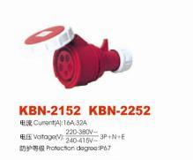 Industrial Plugs and Sockets (KBN-2152: KBN-2252)