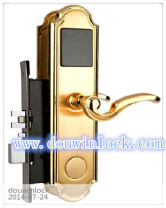 High Technology Card System Safe Door Lock for Star Hotels pictures & photos