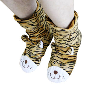 Hot Cold Ice Gel Pack for Pain Relief Beneficial to Human Body Health Animal Tiger SPA Socks (P20112)