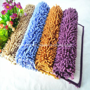 Shiny Chenille Tufted Carpet for Kitchen Living Room Bathroom pictures & photos