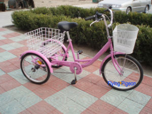 """24"""" Shopping Tricycle with Pedal Trishaw (FP-TRB-J012) pictures & photos"""