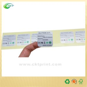 Professional Adhesive Sticker Printier (CKT-LA-394) pictures & photos