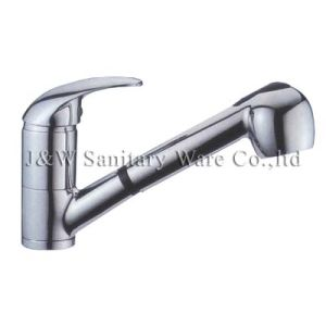 High Quality Pull out Kitchen Faucet (B-13) pictures & photos