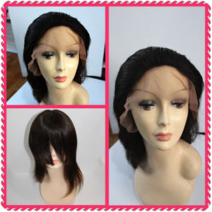 Human Hair Front Lace Wigs (BHF-HW001) pictures & photos