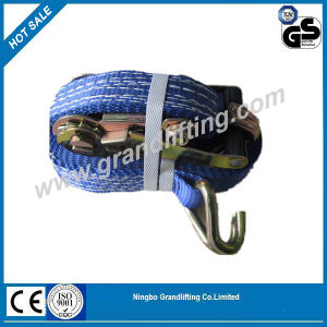 CE Certified Ratchet Tie Down, Cargo Strap Restraints, Ratchet Lashing, Cargo Lashing pictures & photos