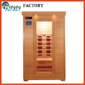 2 Person Mini Infrared Wooden Sauna Room Equipment on Sale pictures & photos