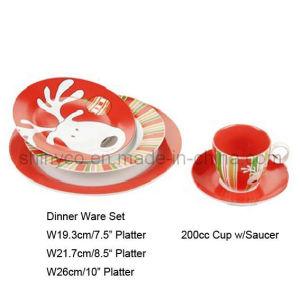 30PCS Porcelain Dinner Set (Style#3455) pictures & photos