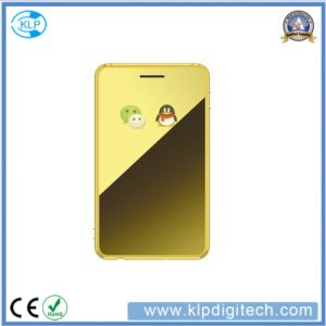 H3 Credit Card Mobile Phone Mini Original Phone Ultra Thin Student Cellphone pictures & photos
